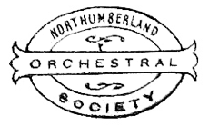 northumberland orchestral society old logo